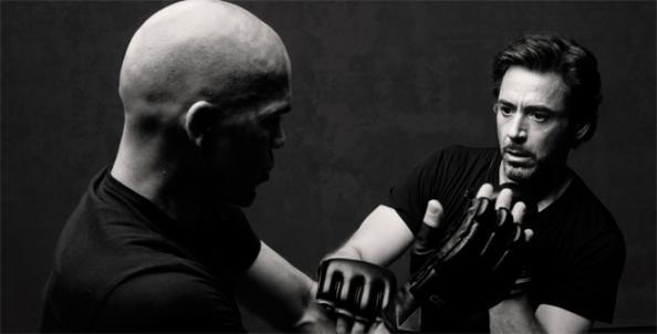 Robert Downey Jr.gloves