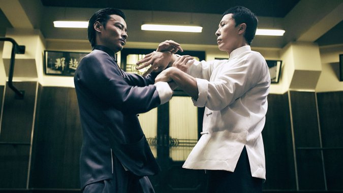 A still from Ip Man 3.  Source: The Hollywood Reporter.