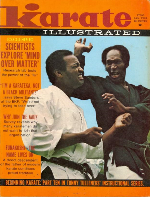 Karate Illustrated.Steve Sanders.cover