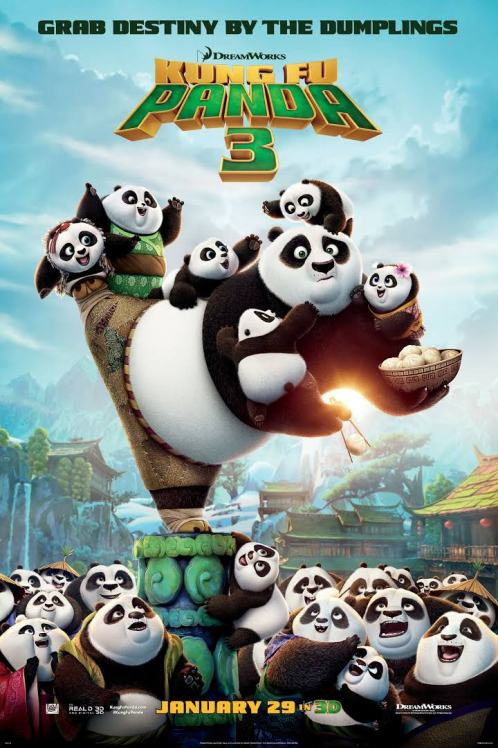 Kung Fu Panda 3. Grab destiny by the dumplings.