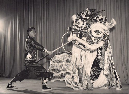 Chinese Lion Dance.1957.honoloulu.ebay sale