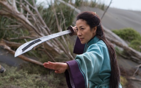 A still from the sequel to Couching Tiger Hidden Dragon, The Sword of Destiny.
