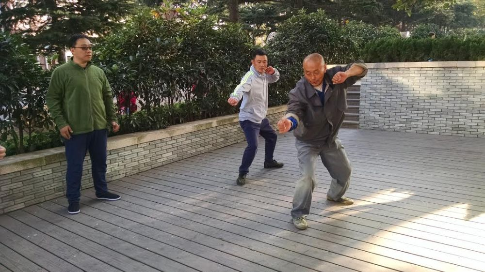Photo of a training session in Shandong. Source: Field notes of Dr. Jared Miracle.
