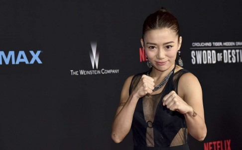 JuJu Chan at the Los Angeles premiere of Crouching Tiger. Hidden Dragon - Sword Of Destiny. Source: SCMP.com