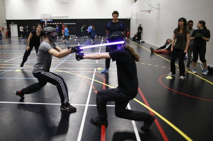 A Sportlight Saber League Tournament held in Paris, France. Source: www.themalaymailonline.com