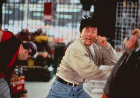 Jackie Chan in Rumble in the Bronx.  Source: Indiewire.