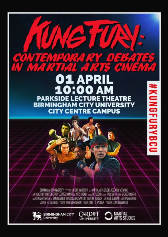 kungfury.conference poster
