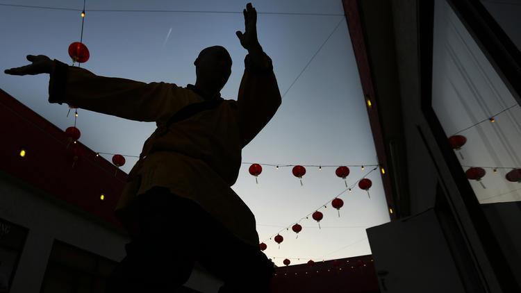 Master Shi Tanxu. Source: Rick Loomis/LA Times.