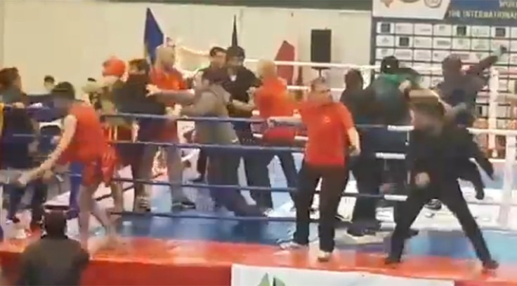 A fight between the Armenian and Azerbaijani camps at a recent Kung Fu tournament in the Ukraine. Source: https://www.rt.com