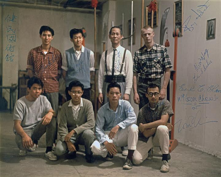 The Sturdy Citizen's Club circa 1965. TY Wong, top row second from right, with students in his basement studio in San Francisco's Chinatown. Source: From the collection of Charles Russo.