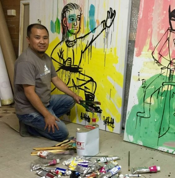 Zhong Chen at Singapore's REDSEA Gallery. Source: http://sea.blouinartinfo.com