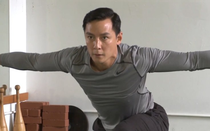 Daniel Wu, being interviewed for CCTV.com