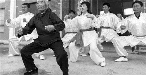 Kung Fu Grandma