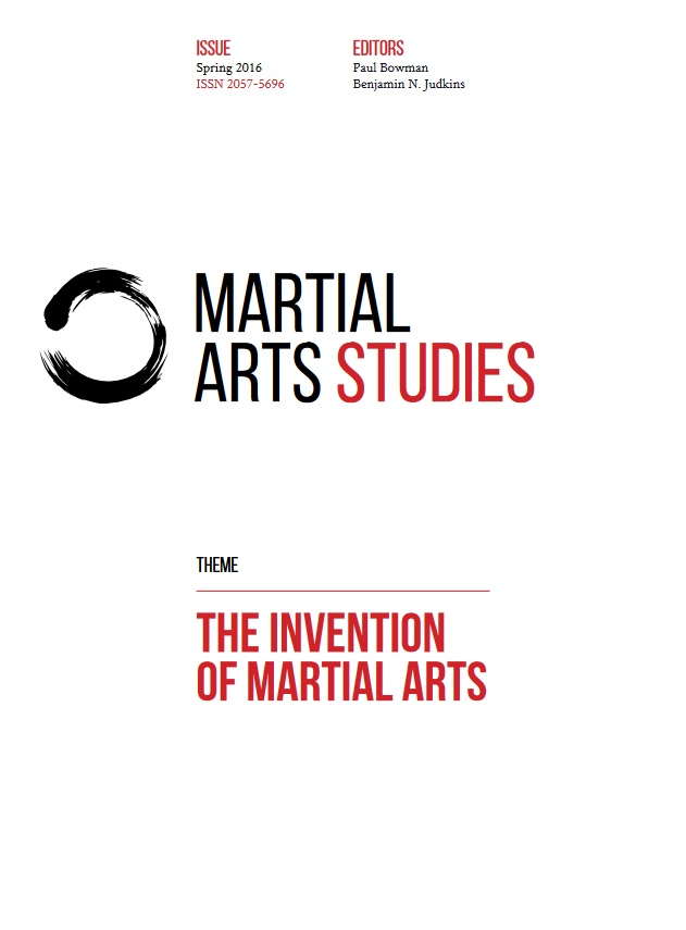 Martial Arts Studies, Issue 2: The Invention of Martial Arts