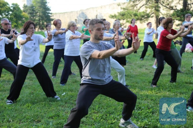 Serbs love the traditional Chinese martial arts. Source: