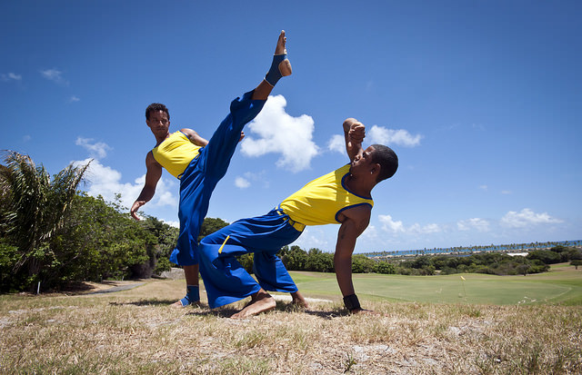 Capoeira. Photo by Turismo Bahia. Source: Wikimedia.