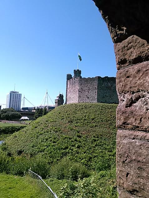 The Norman Keep at Cardiff Castle.  Photo by Benjamin Judkins.