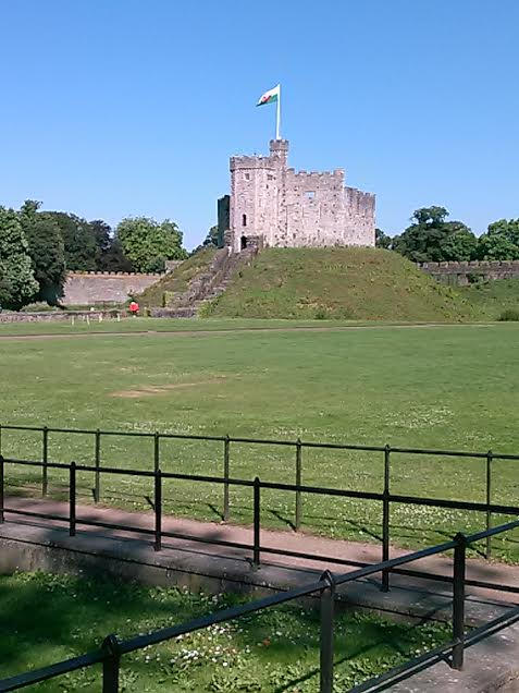 Cardiff Castle. Photo by Benjamin Judkins