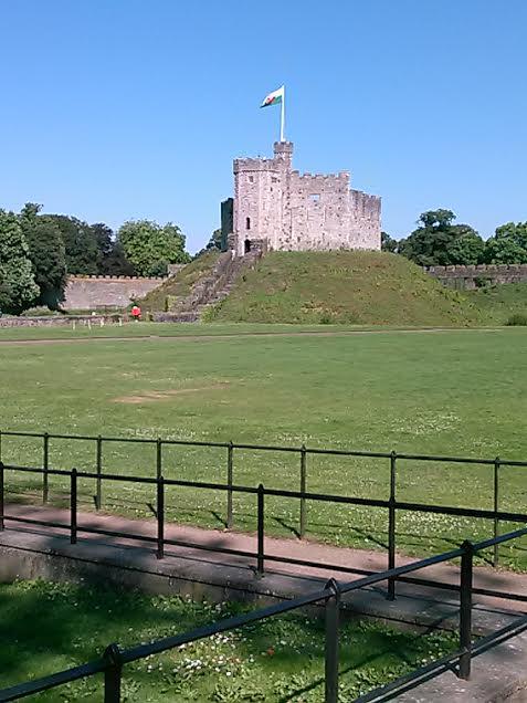 Cardiff Castle. Photo by Benjamin Judkins