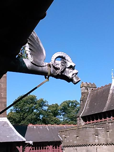 Architectural detail.  Cardiff Castle.  Photo by Benjamin Judkins.
