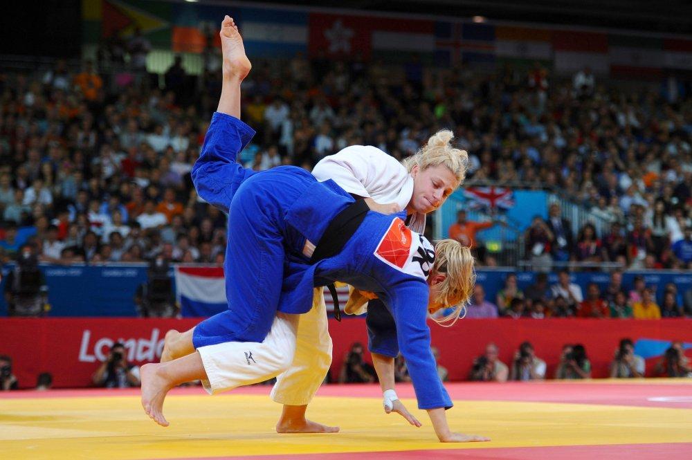 Olympic Judo.  Source: NY Times