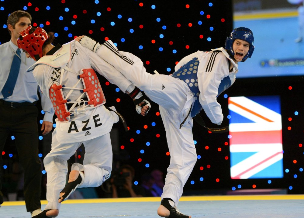 Olympic Taekwondo.  Source: nytimes.com