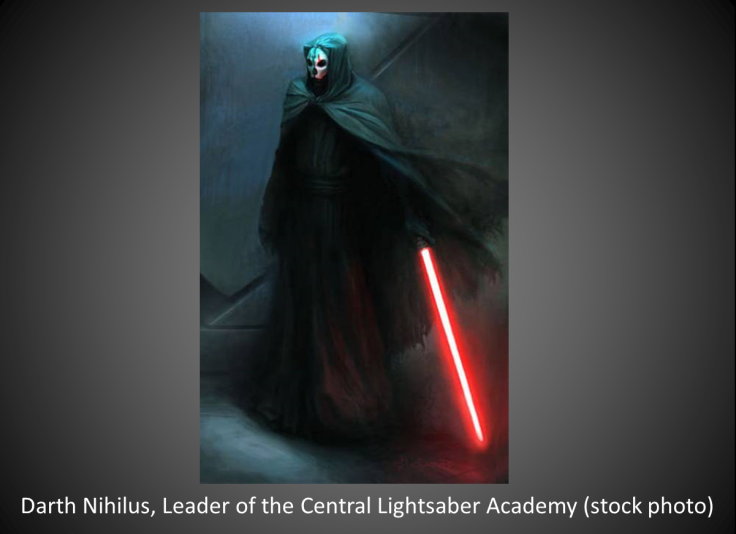 Darth Nihilus.stock photo