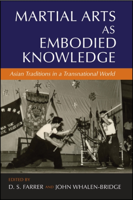 martial arts as Embodied Knowledge.cover