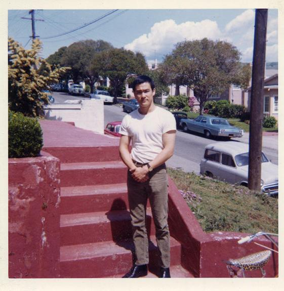 A Young Bruce Lee in Oakland.  Source: Charlie Russo.