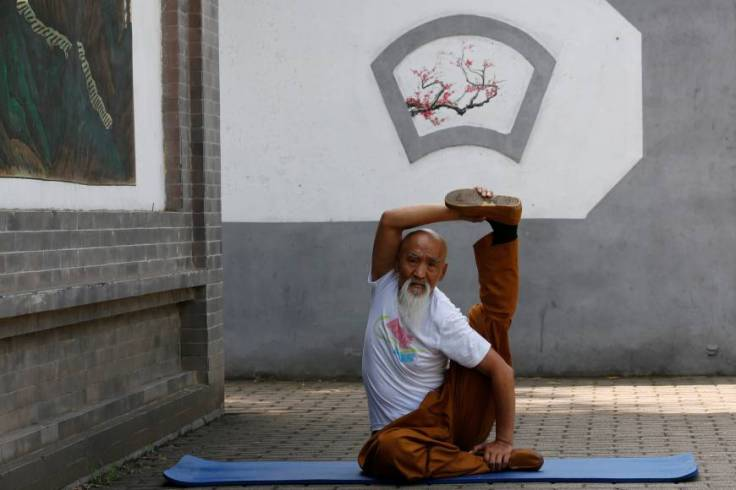 "Master Li, a practioner of ""Body Shrinking"" kung fu. Source: Reuters."