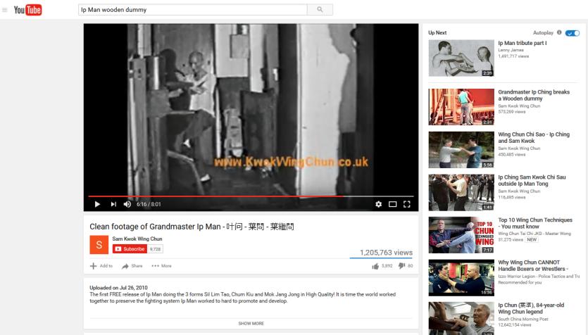 The Grandmaster on YouTube.