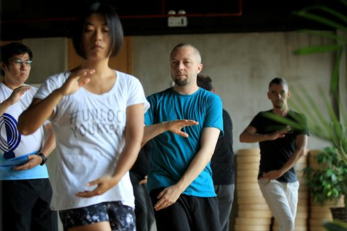 Expats in Shanghai are showing more interest in local Kung Fu Classes. Source: News