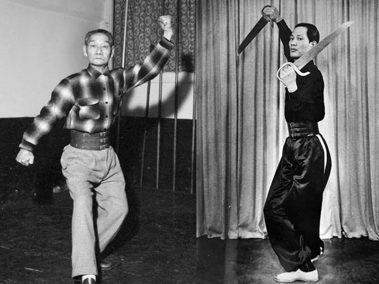 Lau Bun (left) and TY Wong were enforcers for the Hop Sing Tong in San Francisco's Chinatown, and oversaw the neighborhood's martial arts culture for more than a quarter century. Having largely predated the modern era of martial arts media, their pioneering careers often go unnoticed. (Lau Bun photo courtesy of UC Berkeley, TY Wong courtesy of Gilman Wong)