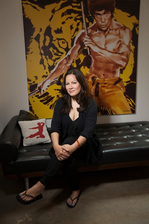Shannon Lee, the daughter of Bruce Lee. Source: LA Weekly.