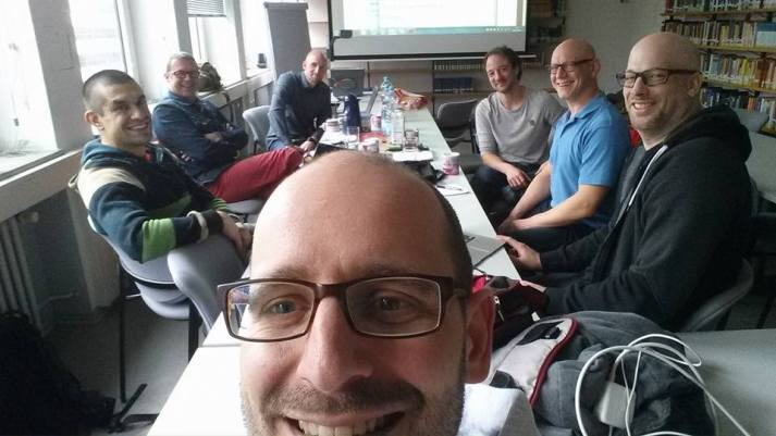 Where the magic happens. Speaker Council meeting of our commission at the German Sport University Cologne - planning for the 2016 conference.  Source: https://www.facebook.com/dvskommissionkuk