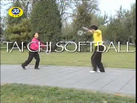 Taiji Softball (which, apparently is a racket sport.)  My god its finally come to this.