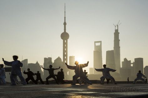 Taijiquan in Shanghai, by Paul Souders.
