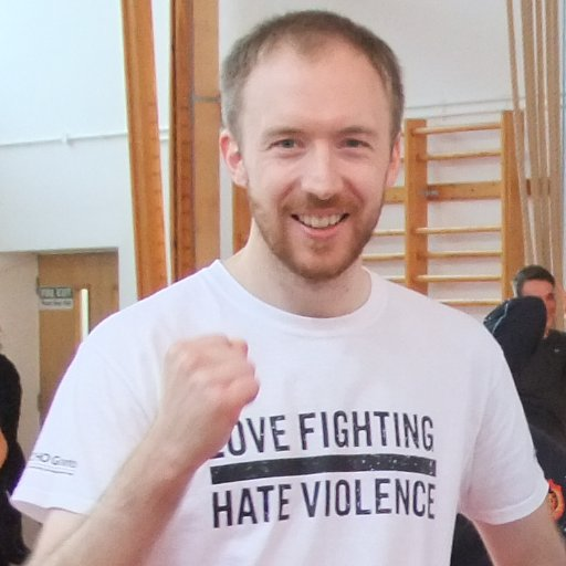 Alex Channon love's fighting but hates violence.