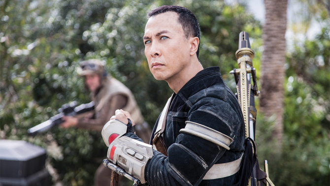 Rogue One: A Star Wars Story..Chirrut Imwe (Donnie Yen)..Ph: Jonathan Olley..©Lucasfilm LFL 2016.