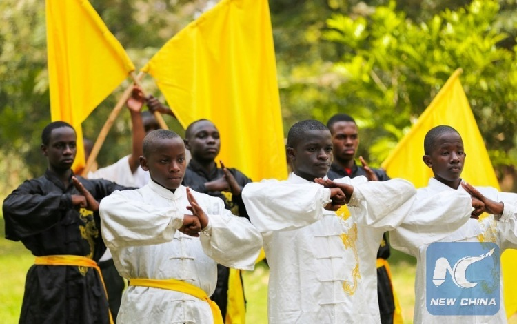 Kung Fu has proved to be popular with Kenya's students. Source: