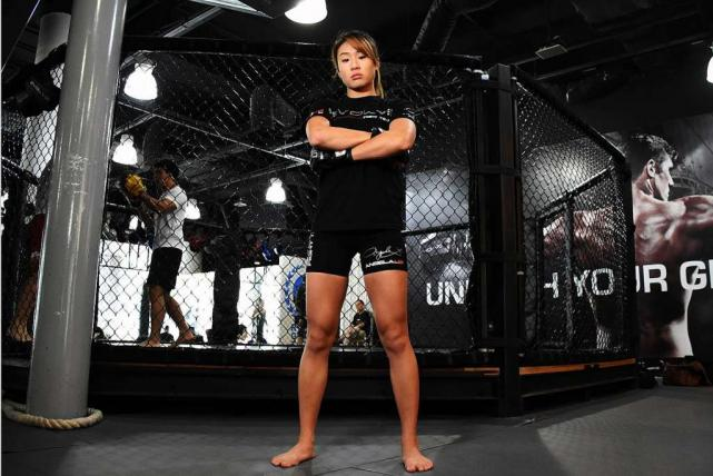 Mixed Martial Artist Angela Lee. Source: