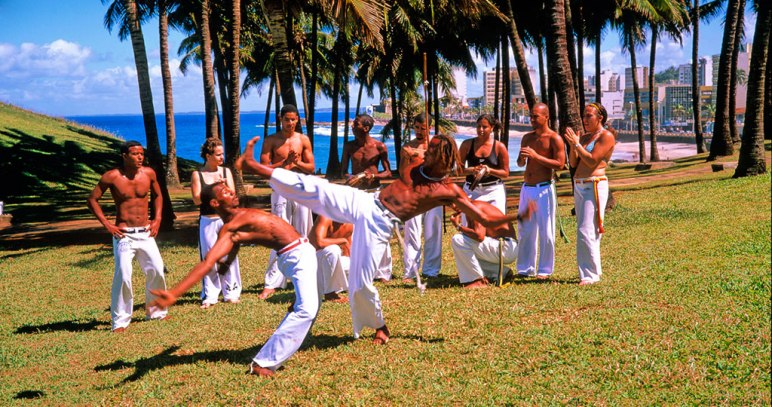 Capoeira, according to the Discover Brazil tourism campaign.