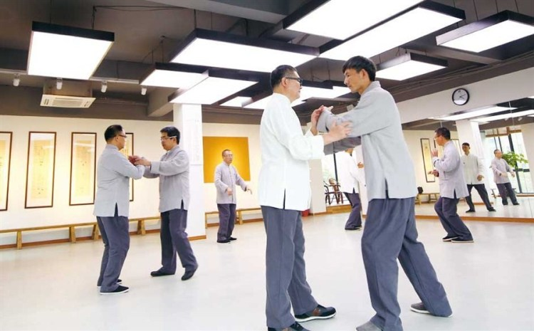 Spring is the season for sharpening your Kung Fu. Source: Shanghai Daily.