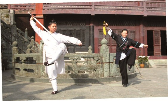 Wudang Kung Fu. Source: Shanghai Daily.